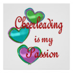 My Cheerleading Passion Poster