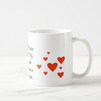 My Chemical Dependence To Caffeine Basic White Mug