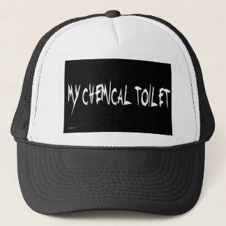 MY CHEMICAL TOILET TRUCKER HAT