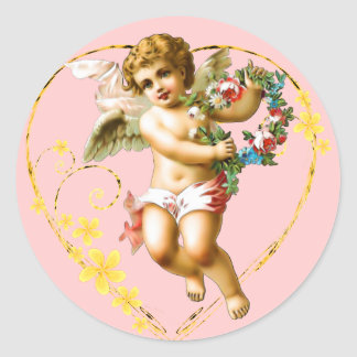 My Cherub Round Sticker