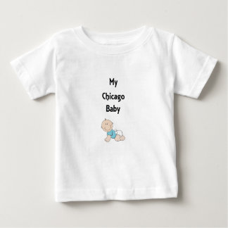 My Chicago Baby Boy Baby T-Shirt