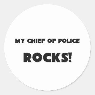 MY Chief Of Police ROCKS! Sticker