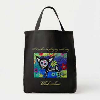 My Chihuahua Day of the Dead Tote Bag