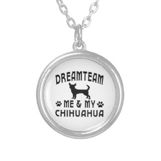 My Chihuahua Dog Silver Plated Necklace