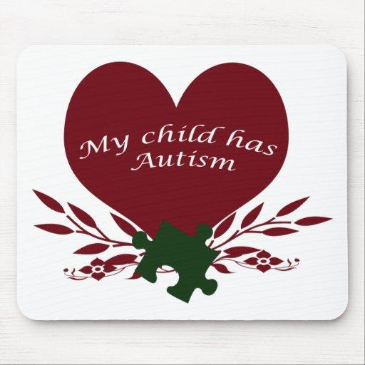 my child has autism mousepads