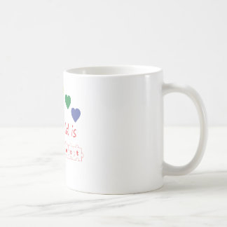 My child is perfect basic white mug