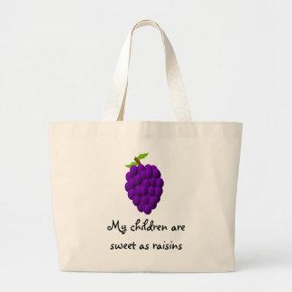 My children are sweet jumbo tote jumbo tote bag