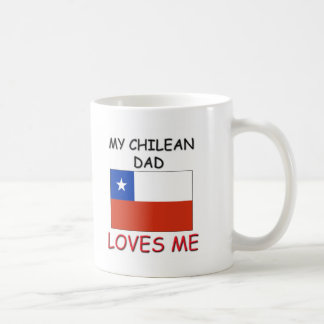 My CHILEAN DAD Loves Me Coffee Mug