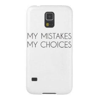 My choices my mistakes galaxy nexus case