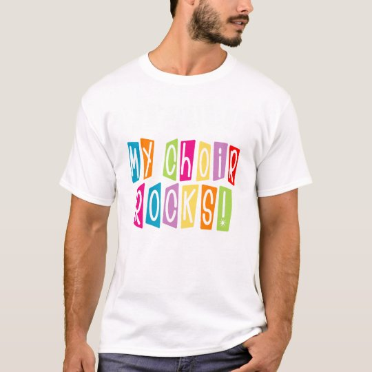 My Choir Rocks Director T-shirt