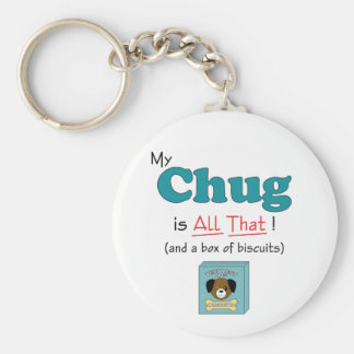 My Chug is All That! Key Ring
