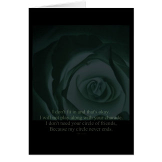 My Circle Never Ends Greeting Cards