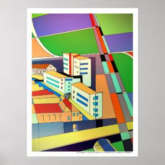 My Cityscape print / poster art