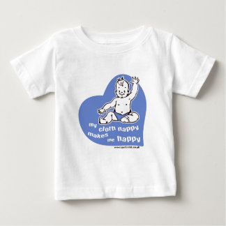 My cloth nappy makes me happy baby T-Shirt