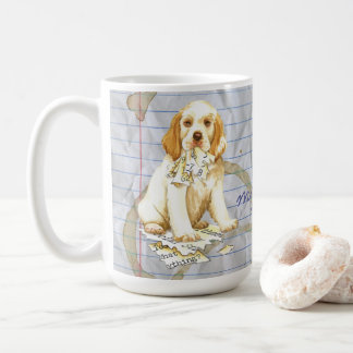 My Clumber Spaniel Ate My Lesson Plan Coffee Mug
