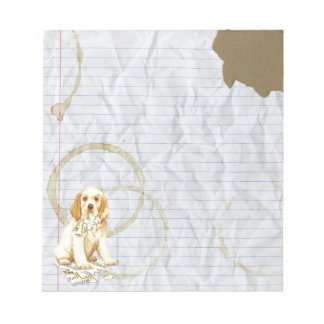 My Clumber Spaniel Ate My Lesson Plan Notepads
