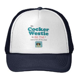 My Cocker Westie is All That! Cap