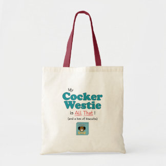 My Cocker Westie is All That! Budget Tote Bag