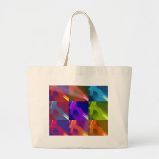 My colored hip canvas bag