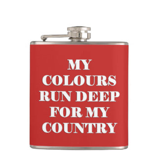 My Colours Canada Day Flask