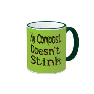 My Compost Doesn't Stink Funny Gardener Ringer Mug