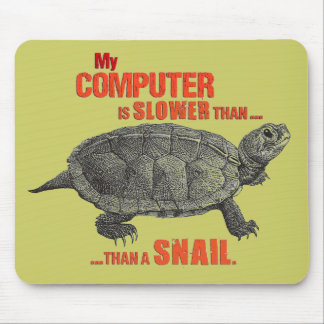 My Computer is Slower than... a Snail Mouse Mat