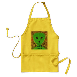 My Cooking Is Out Of This World! Standard Apron