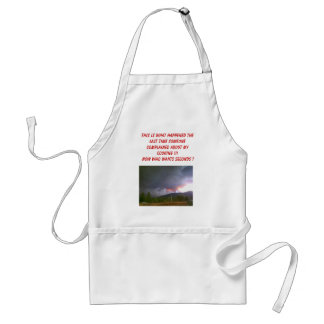 My cooking standard apron