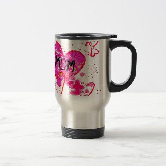 My Cool Graffiti Mom Travel Mug