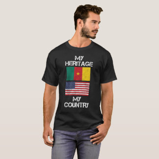 My Country Cameroonian American T-Shirt