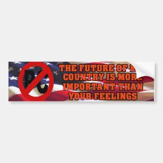 My Country vs PC Bumper Sticker