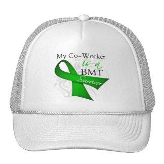 My Coworker is Bone Marrow Transplant Survivor Mesh Hats