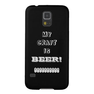 My Craft is Beer! Galaxy S5 Covers