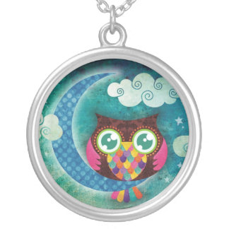 My Crescent Owl Necklace
