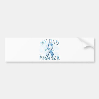 My Dad is a Fighter Light Blue Bumper Sticker