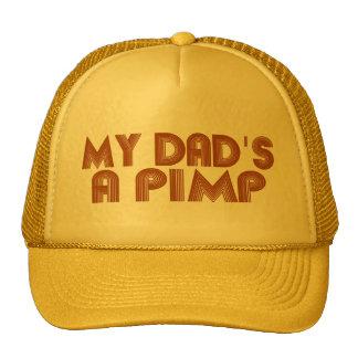 My Dad is a Pimp Mesh Hat