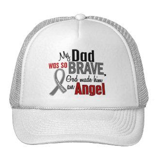 My Dad Is An Angel 1 Brain Cancer Trucker Hat