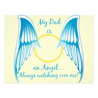 My Dad is an Angel 21.5 Cm X 28 Cm Flyer