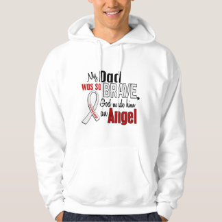 My Dad Is An Angel Lung Cancer Hoodie