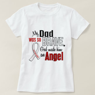 My Dad Is An Angel Lung Cancer T-shirts