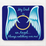 My Dad is an Angel Mouse Pad