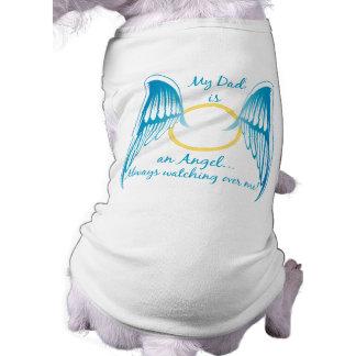 My Dad is an Angel Sleeveless Dog Shirt