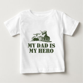 My Dad Is My Hero Baby T-Shirt