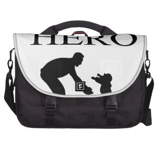 My Dad Is My Hero Bags For Laptop