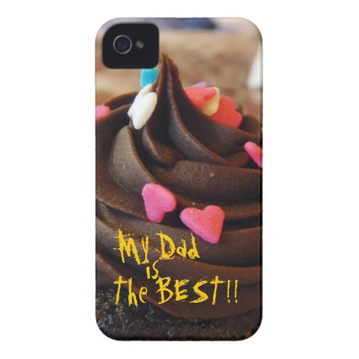 My Dad is the Best Cup Cake Iphone4 case Case-Mate iPhone 4 Cases