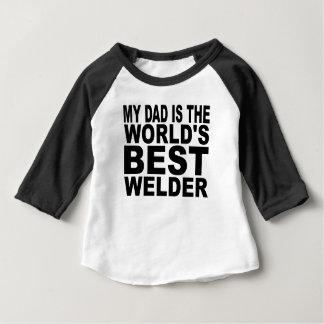 My Dad Is The World's Best Welder Tshirt