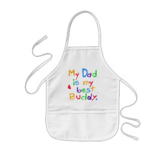 My Dad My Best Buddy T-shirts and Gifts Kids Apron