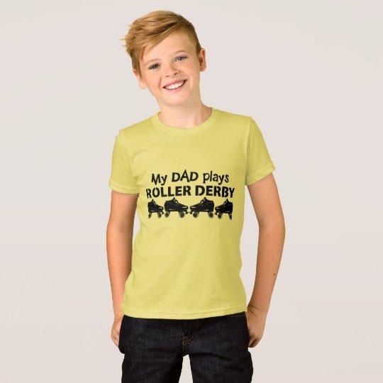 My Dad plays Roller Derby, Roller Skating T-Shirt