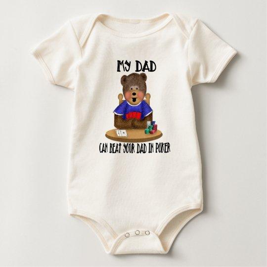 My Dad - Poker Baby Bodysuit