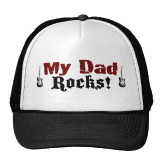 My Dad Rocks Cap